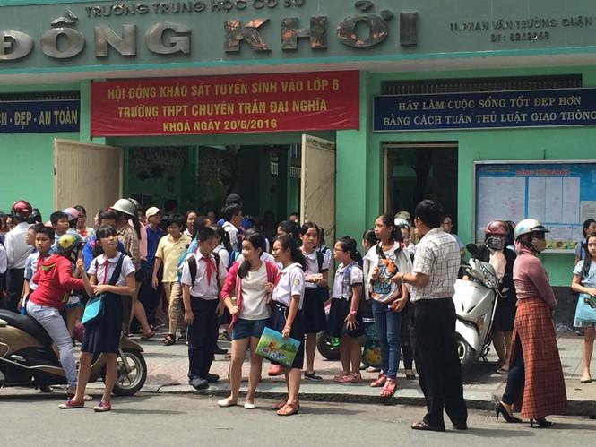TP.HCM: Tuyển 525 học sinh vào lớp 6 Trường Trần Đại Nghĩa